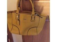 New leather bag