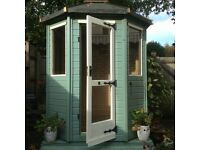 Pretty Octagonal wooden summerhouse