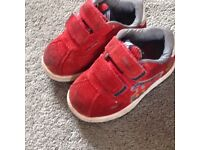 Boys trainers infant size 4