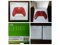Xbox one wireless controller. New in box. Custom red