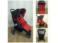 REDUCED Redkite 3 wheel buggy immaculate