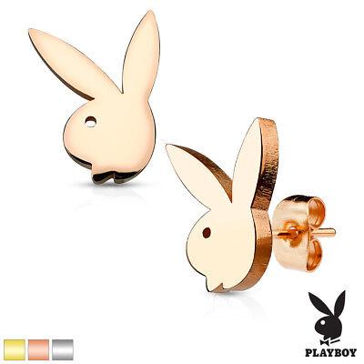 Paar Playboy-Bunny 316l Chirurgisch Edelstahl - Playboy Bunny Ohren