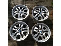 BMW set of 4 x 16 inch wheels