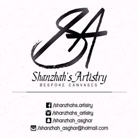 Bespoke Canvases | Shanzhah's Artistry