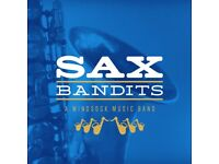 SAX BANDITS - An all-saxophone community band! All ages & abilities welcome.