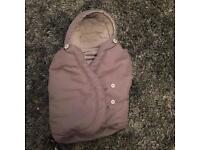 Maxi cosi footmuff in grey (not car seat)