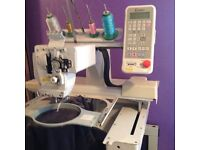 Toyota expert 851 embroidery machine