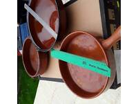 EARTHENWARE COOKING CASSEROLES