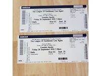2 tickets for The League of Gentlemen Live Again