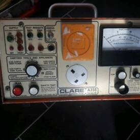 CLARE A255 SERIES II PORTABLE APPLIANCE TESTER