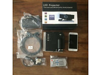 Mini LCD Projector for laptops dvd films etc.