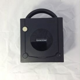 Black Gamecube (no power cable)
