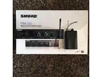 Shure PSM 200 in ear monitor system