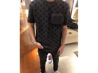 Louis Vuitton monogram Hook and loop T-Shirt XL
