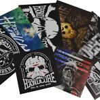 100% Hardcore,terror,frenchcore stickers