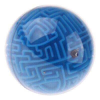 Maze Ball 3D Puzzle Magic Magnetische IQ Labyrinth Kugelspiel für Kinder #2 (Magnetische Kugeln Blau)