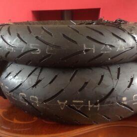 Dunlop Sportsmax GPR 300 pair brand new Tyres