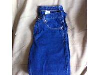 Original black levis jeans orange tab