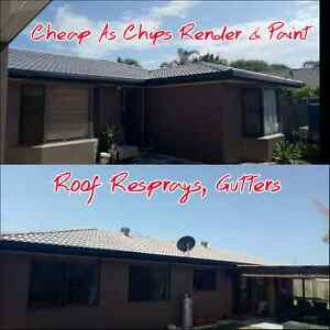 Cheap As Chip's best deals Rendering & Painting, Roof resprays. Broadbeach Waters Gold Coast City Preview