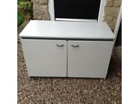 Childs Cupboard/Storage/Toy Cupboard with Castors.
