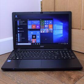"Acer Travelmate P256 Student Multimedia 15.6"" Laptop Intel Core i3 4GB 500GB"