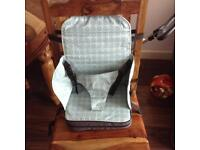 Baby Polar Gear 5 point harness travel booster chair sit
