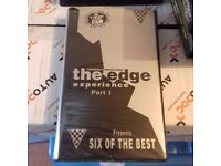 The edge, part 1, rave tape pack, as new, very rare