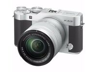 Fujifilm X-A3 24MP w/ XC 16-50mm F3.5-5.6 OIS II Kit & Case & Extra battery