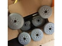 York Fitness Dumbells Set, New.