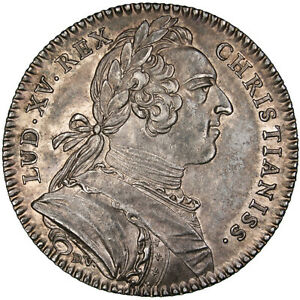 31915-France-Royal-Token-1748-MS-63-Silver-Feuardent-8760-6-39