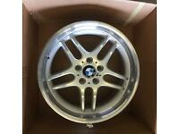 "Only one BMW 7 series 18"" alloy wheel as new £125 call 07860431401"