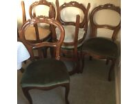 Dining Chairs x6, Refurbishment Project