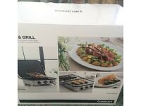 Cuisinart Griddle and Grill/ New