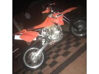 KTM 400 road legal supermoto