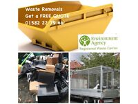WASTE REMOVALS SKIP HOUSE GARDEN OFFICE FURNITURE WASTE DISPOSAL MEN & VAN