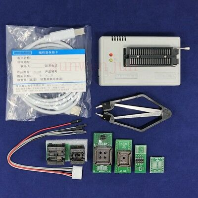 Xgecu Tl866ii Plus Programmer For Spi Flash Nand Eeprom Mcu Pic Avr 6adapters