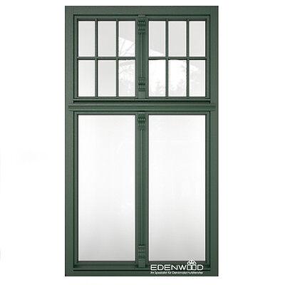 Denkmalschutzfenster Holzfenster für Altbau Fenster mit Oberlicht nach Maß F4