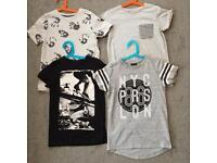 Age 8 T-shirts, from Next & John Lewis