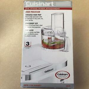Cuisinart Food Processor Mixer Attachment- SM-FPC- WHITE