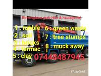 Birmingham grab hire & haulage ltd muck away dudley walsall all over West Midlands skip hire