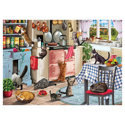 Cute Cats - Jigsaw Puzzle 1000 Piece Puzzles For Adults Kids Learning Education
