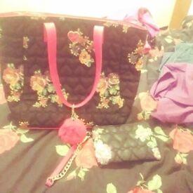Handbag & Purse Set