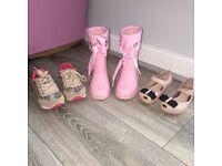 Kids Mini Melissa's, mayoral trainers and igor wellingtons