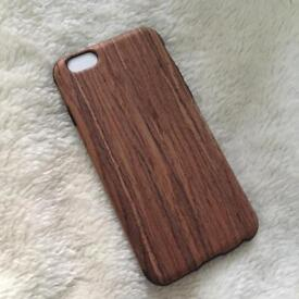 Wooden effect iPhone 6/6s phone xase
