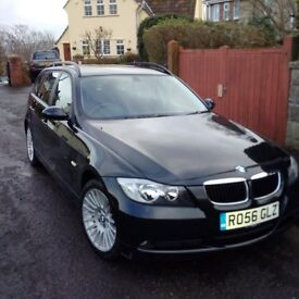 BMW 320I Estate/Touring, 2.0 Petrol, AUTOMATIC, Black leather interior, 3 keepers from new, 109,000