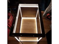 Dwell Dimpled pendant cuboid lamp