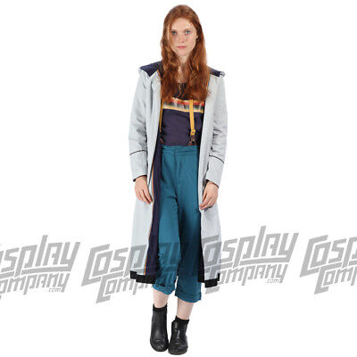 Who Costumes (Doctor Dr Who Jodie Whittaker 13th Costume Cosplay Fancy Dress Jacket T-shirt)