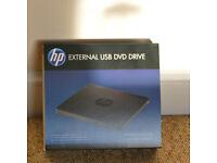 HP External USB DVD /RW Drive BNIB - Unwanted gift
