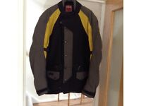 Gent's motorcycle jacket size 44inch chest in very good condition