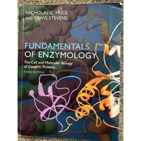 Fundamentals of enzymology textbook